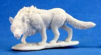 1 x WARG - BONES REAPER figurine miniature d&d jdr rpg wolf direwolf loup 77202