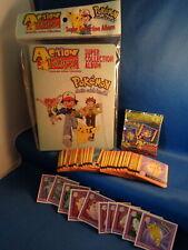 POKEMON - 1999 ARTBOX ACTION FLIPS SET (40) CARDS + (10) INSERTS w/ SEALED BINDR