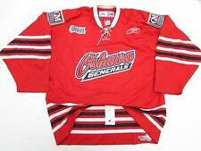 OSHAWA GENERALS AUTHENTIC OHL RED PRO REEBOK HOCKEY JERSEY SIZE 54