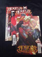 Angela Queen of Hel # 3 4 5 Marvel Comics 2016 VF Thor Hela Ragnarok
