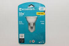 ECOSMART Indoor Spot LED Light Bulb BC 12vac 8w = 50 watt MR16 GU5.3 Dimmable