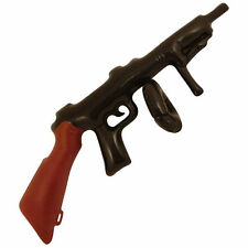 Inflatable Tommy Gun 80cm for Gangster Mob 20s Fancy Dress Accessory