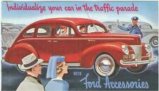 1940 FORD  ACCESSORIES SALES BROCHURE