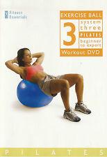 Fitness Essentials ~ Exercise Ball 3 Pilates Workout + Bonus Pilates Yoga ~ DVD