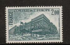 La Francia sgc24 1977 Consiglio d'Europa buliding 2f Gomma integra, non linguellato