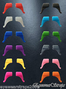 One Pair Kids Childrens Glasses Frame Temples Anti Slip Silicon Ear Grip Tips