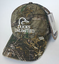 DUCKS UNLIMITED hunting shooting hat NEW realtree xtra camo cap waterfowl