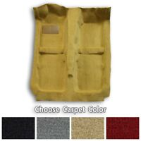 Complete Cutpile Molded Replacement Carpet Kit - Choose Color and Backing