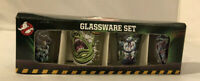 Ghostbusters Shot glass Set of 4 Glassware Slimer Stay Puft Marshmallow Man