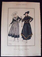 La Fête Parisienne à New-York Poiret Le Style Parisien Vogel Dartey 1915  Pl. II