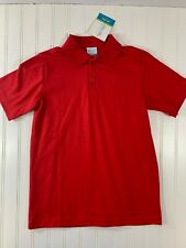 Chez Ami Size 10 NWT Boys Red Collared Polo