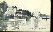LAKE ODESSA,MICHIGAN-JORDAN LAKE-B/W-PM1912-(MICH-L)