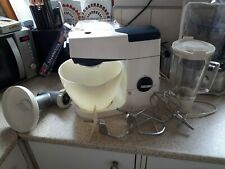 VINTAGE KENWOOD CHEF A701A, WITH K BEATER, DOUGH HOOK, BALLOON WHISK, LIQUIDISER