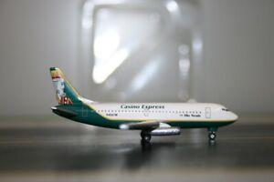 C&C Wings 1:500 Casino Express Boeing 737-200 N456TM Model Plane defect