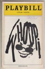 "Whoopi Goldberg  ""Whoopi- The 20th Anniversary Show""   Playbill   2005"