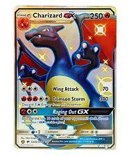 Mint Rare Charizard GX SV49/SV94 Holo Full Art Pokémon Hidden Fates Shiny Vault