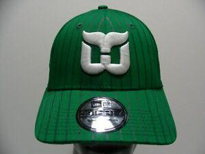 HARTFORD WHALERS - NHL - New Era 39THIRTY S/M Size Stretch Fit Baseball Cap Hat!