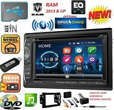 2013 2014 2015 2016 RAM DVD AUX CD TOUCHSCREEN BLUETOOTH RADIO OPTIONAL SIRIUSXM