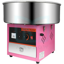 Electric Cotton Candy Machine Large Commercial Diy Sugar Floss Maker Pink Party