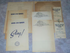 Vintage Labor Union Scrapbook Ephemera UAW CIO 1941 Hotel Chisca Memphis TN