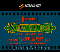 Castlevania II 2 Simon's Quest - NES Nintendo Game