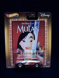 Hot Wheels Disney Mulan Dream Van XGW.