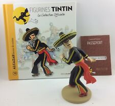 Collection officielle figurine Tintin Moulinsart 10 Le général Alcazar