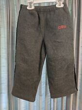 Boys Know Wear Oregon State Beavers Osu Sweatpants Gray Size 4T