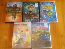 Princess Bride, The Pagemaster, Turtle Tale 2 & two other DVD's (brand new)