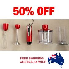 400W 4 in 1 hand blender set Stainless Steel measure cup mixer food processor