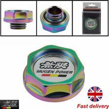 Mugen Oil Cap Neo Chrome Aluminium Type R Honda Civic Integra EP3-FN2-DC5-EGJ UK