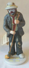 1994 Flambro Emmett Kelly - In the Spotlight Figurine - Mopping