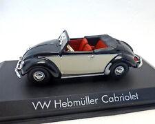VW COCCINELLE cabriolet Hebmüller, 1949, Norev, échelle 1:43