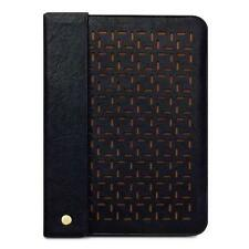 Lexi Perforated Pattern Black Pouch Sleeve Carry Case for Apple iPad 2/3/4
