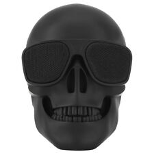Skull Head Wireless Bluetooth Speaker Mini Portable Stereo Speaker HD Sound Bass