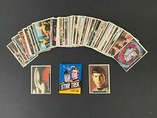 1976 Topps Star Trek Trading Cards Singles Complete Your Set Choose Pick EX+