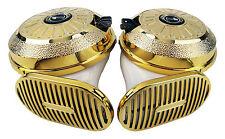 "[1 Sound] ILDUNG Digital Car Horn Motorcycle Auto Truck Siren 12V ""GOLD SLIM"""
