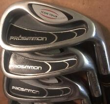 New listing Prosimmon Golf Icon Tour Oversize Iron Set (3,4,5,6,8,9) Regular Flex Graphite