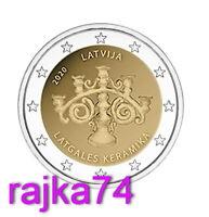 Lettland - 25 x 2 Euro 2020 - Latgalian Keramik Kerzenhalter  !!  ROLLE  !!  VVK