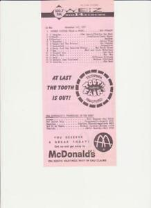 WBIZ-Eau Claire, WI-Original Top 40 Radio Station Music Survey-November 1, 1971