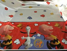 New Peanuts Charlie Brown Birthday (1) Plastic Tablecover Party Supply