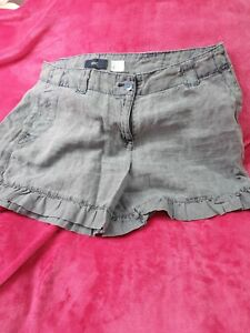 Ladies NEXT  linen shorts size  14