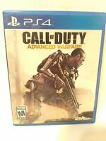 PS4 Call of Duty Advanced Warfare FREE FAST Shipping Video Game No manual