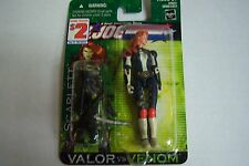 "G.i. Joe Valor Vs. Venom ""Scarlett "" Figurine"