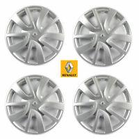 4x Renault Radkappe Radzierblende Set 15 Zoll Clio Fluence 403158763R Magiceo