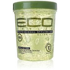 [ECO STYLER] STYLING GEL OLIVE OIL ALCOHOL FREE MAXIMUM HOLD 32OZ