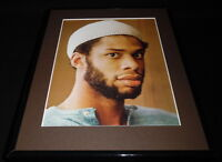 Lew Alcindor Kareem Abdul Jabbar UCLA Lakers Framed 11x14 Photo Display