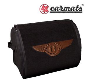 🇬🇧BENTLEY ✴️Design ✴️🛄Trunk Cargo Organizer 🛄Size (L) 🏁Boot Storage Bag ✅