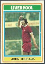 TOPPS 1976 FOOTBALLERS #190-LIVERPOOL & WALES-CARDIFF CITY-JOHN TOSHACK