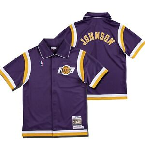 Los Angeles Lakers Magic Johnson Authentic Shooting Shirt 87-88 Mitchell & Ness